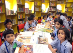 Visit to Defence Central Library
